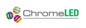 Chrome LED logo